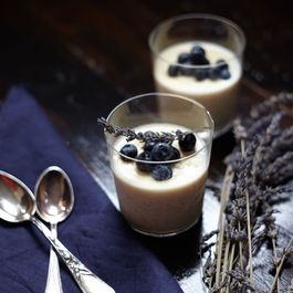 Lavender-Honey Rice Pudding