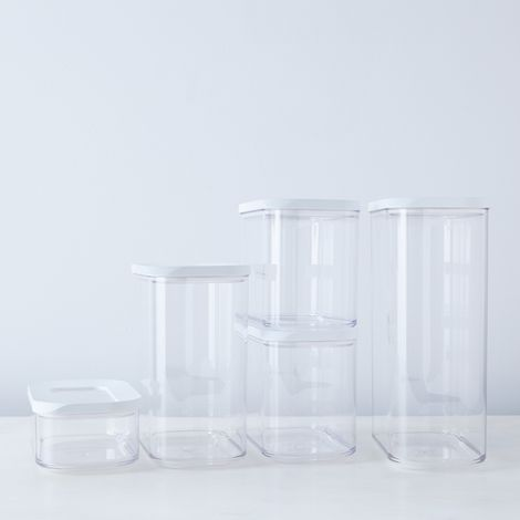 Modula Stackable Storage Containers Starter Set