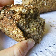 Baguette aux Céréales, Gluten-Free (French multigrain bread)