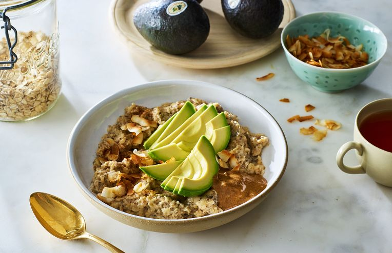 Avocado-Topped Oats Will Power You Through The Day