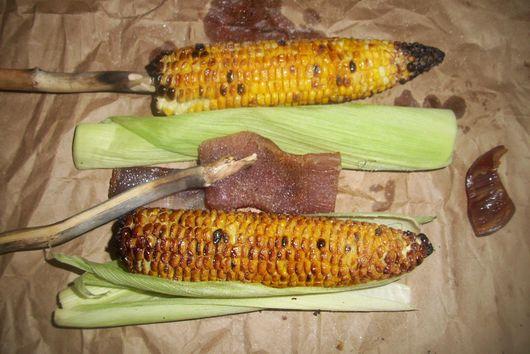Corn on the stick