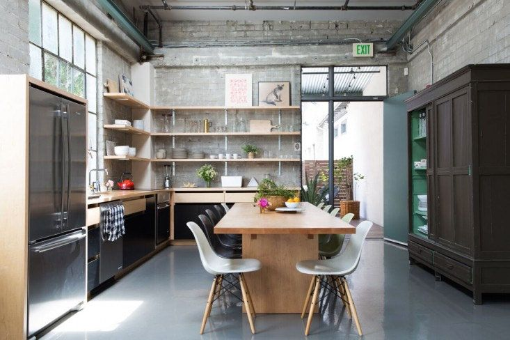 Industrial Kitchen Design by Remodelista Reath Design