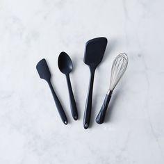 Silicone Basic Kitchen Tools (Set of 4)