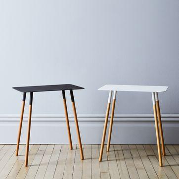 Peachy Steel Wood Rectangular Side Table Forskolin Free Trial Chair Design Images Forskolin Free Trialorg