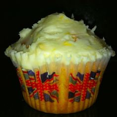 Earl Grey Cupcakes with Lemon Buttercream