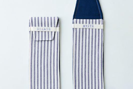 Cotton Pencil Case (Set of 2)