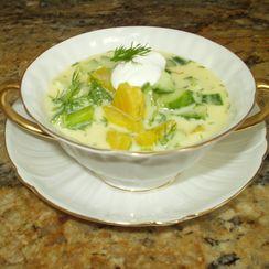 Golden Beet Summer Soup