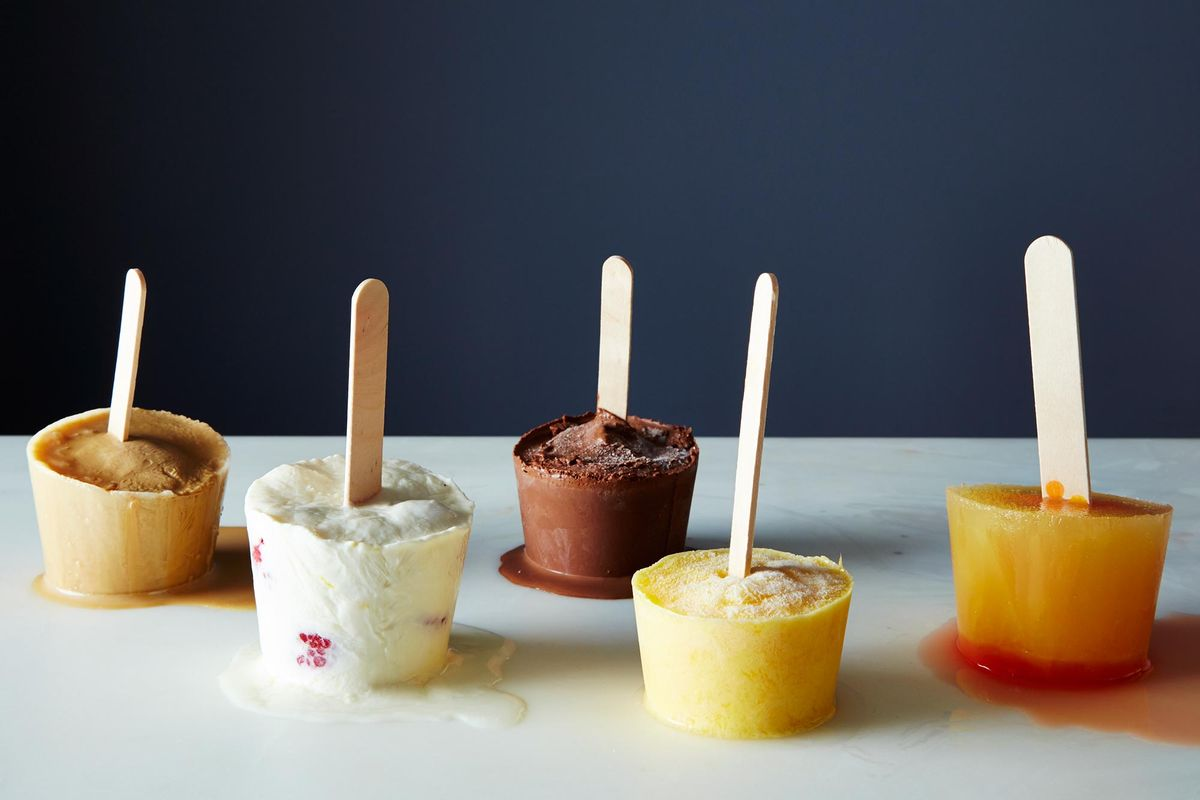 How To Make Ice Pops Without A Recipe Homemade Popsicles