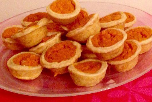 Brown Butter Sweet Potato Tartlets