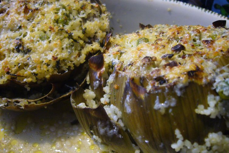 Couscous-stuffed Artichokes