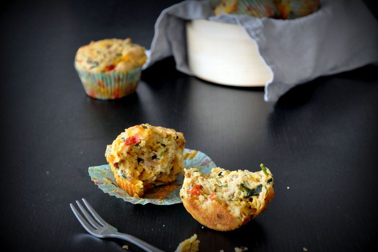 Spicy Breakfast Muffins