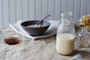 Homemade Cashew Milk Is a Heck of a Lot Easier Than We Thought