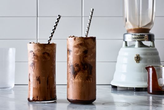 Malted Black & White Milkshake