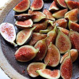 Chocolate Ganache Tart with Fresh Figs