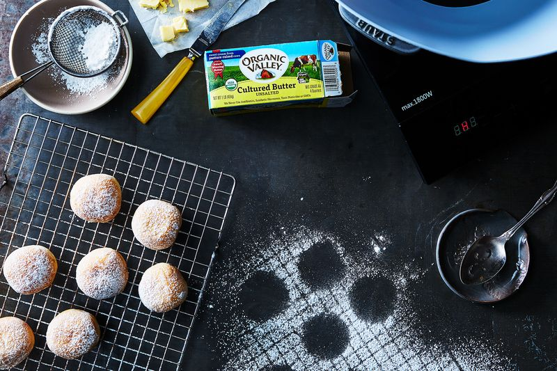 A Frywall and induction cooktop means donuts with a little less hassle.