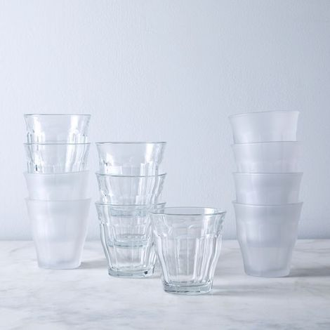 French Bistro Tumblers (Set of 12)