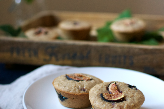 Summer Berry & Fig Muffins