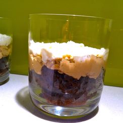Mocha Ricotta Trifle