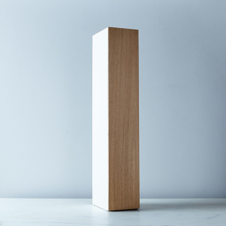 Steel & Wood Bathroom Storage Shelf on Food52