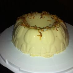 BLANCMANGE, Coconut-Y Flan-like Delight