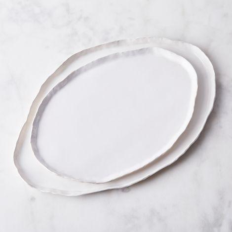Handmade Crinkle Edge Platter