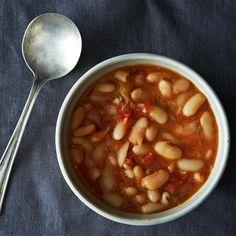 Brothy, Garlicky Beans