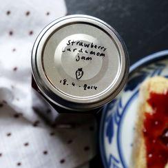 Strawberry Jam with Cardamom