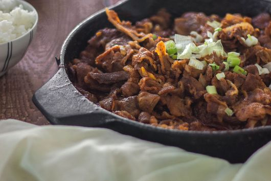 Best Spicy Pork Bulgogi {Dwaeji Bulgogi}