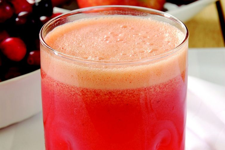 Cranberry-Apple Shrub