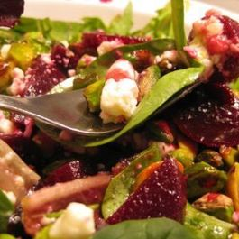 Elemental Inspired Beet Salad with Pineapple Dressing