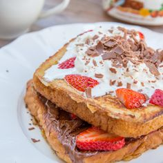 Nutella Strawberry French Toast