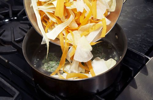 Jerry Traunfeld's Root Ribbons with Sage Recipe on Food52