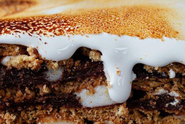 S'mores Pudding Cake from Faith Durand