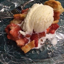 Strawberry Spice Pie