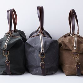 Waxed Canvas Weekender