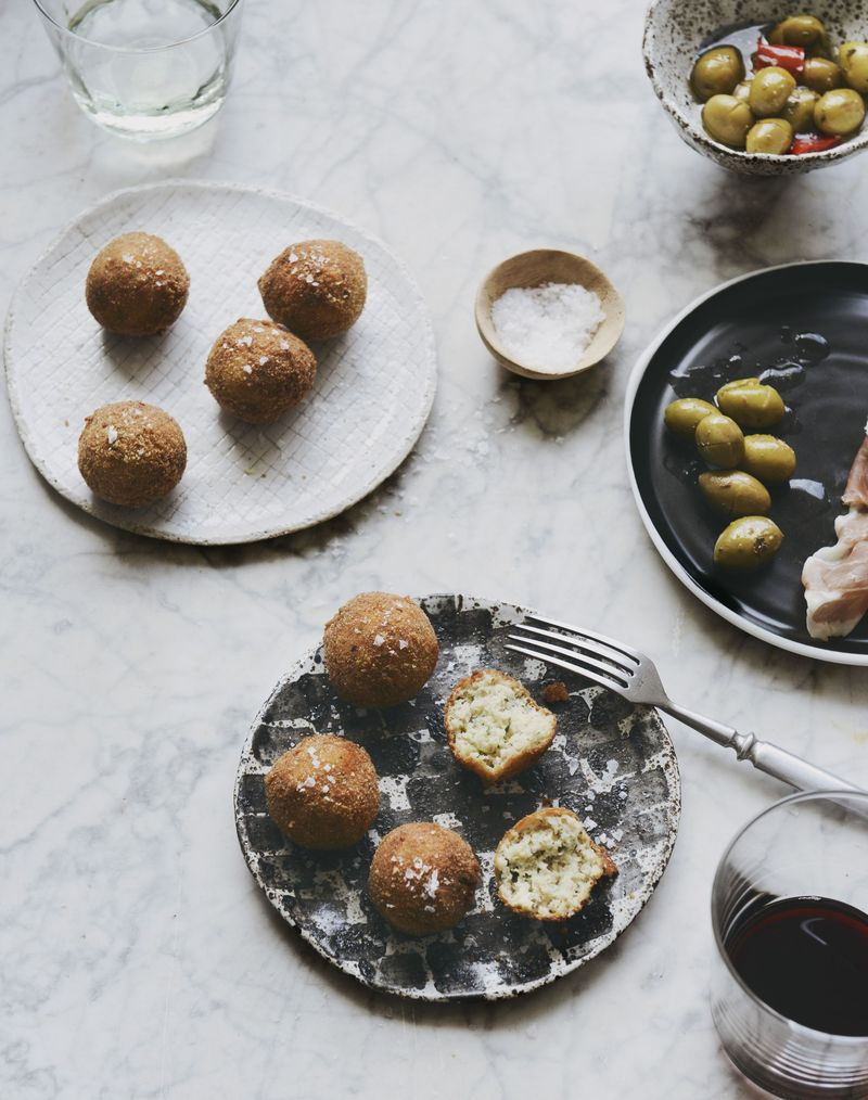 Don't knock these polpette di trippa (deep-fried tripe balls) till you try them.