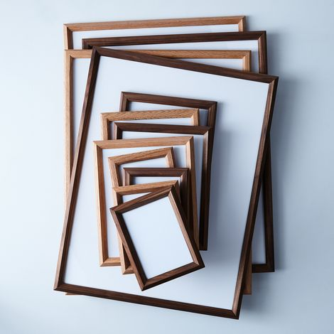 Geometric Wood Frames