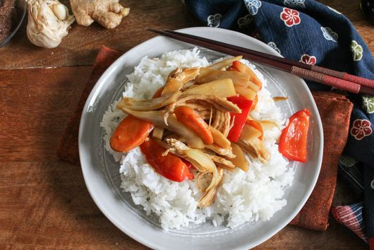 Quick Sesame Ginger Stir Fry
