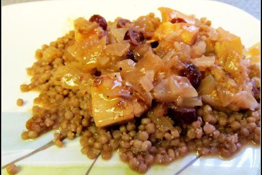 Cranberry Chicken Tagine