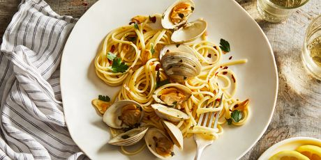 Linguine alle vongole is still a family favorite, all these years later.