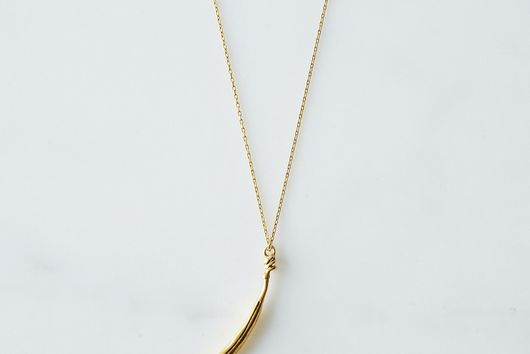 Gold Bean Necklace