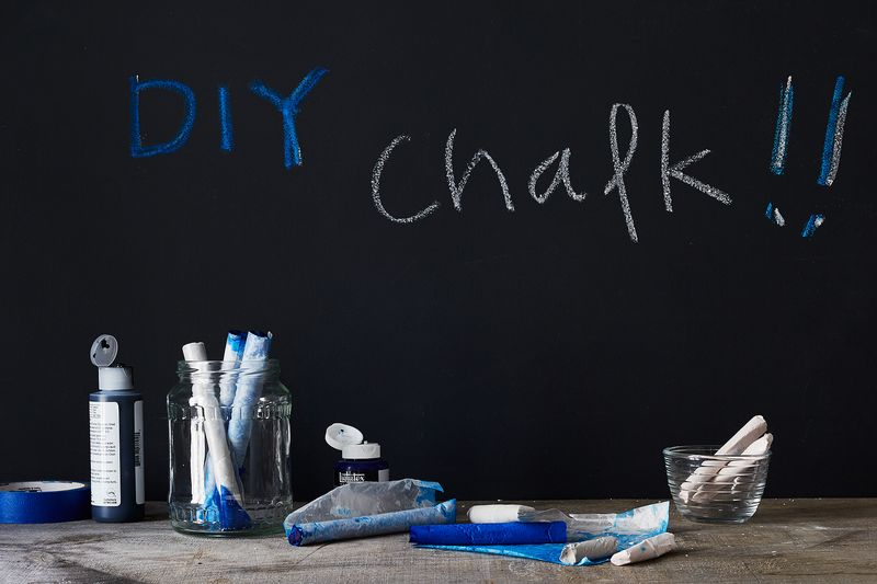 How to Make Chalk in Colors You Actually Love