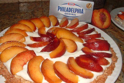 Orchard Peach Macaroon Tart