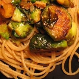 Caramelized Parmesan Brussels Sprouts