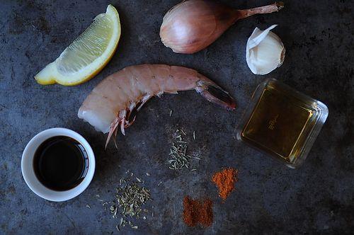 Flamin' Cajun Shrimp
