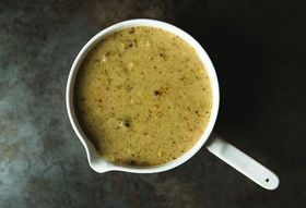 Broccoli, Lemon and Parmesan Soup