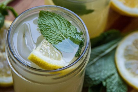 Spicy Ginger Lemonade