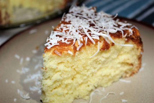 Honey Almond Coconut Cake
