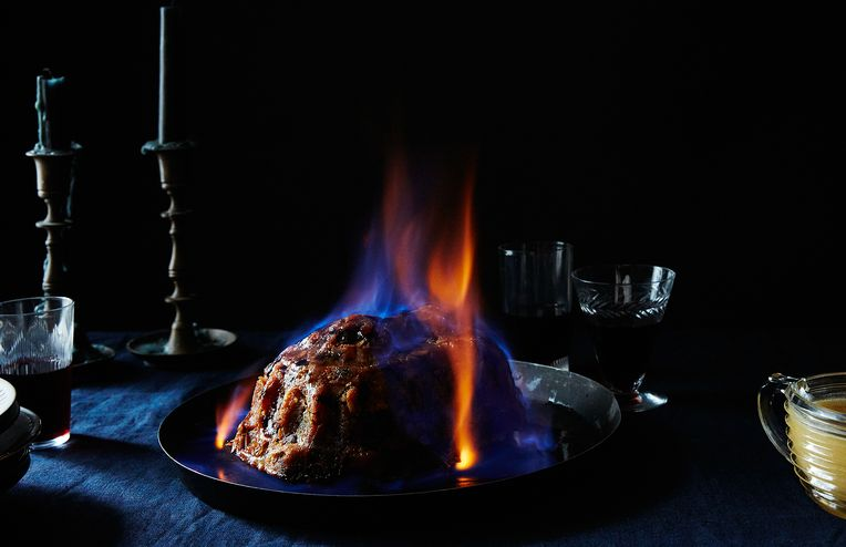 How to Light a Christmas Pudding on Fire (Because Why Not?)