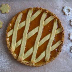 Crostata alla marmellata (jam tarte)